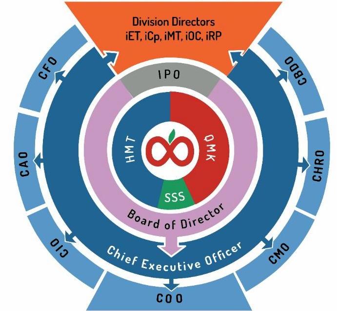 Indofinite Organization Structure